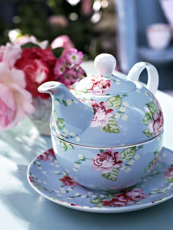 I love this kind of teapot. I have one, and love having tea just for me :)