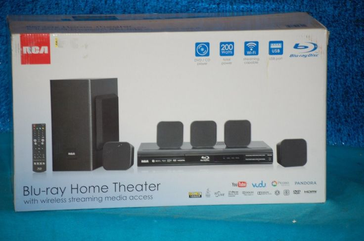 Home Theater Systems: Wifi Home Theater System 5.1 Surround Sound Speakers + Blu-Ray Dvd Player Seale BUY IT NOW ONLY: $174.99