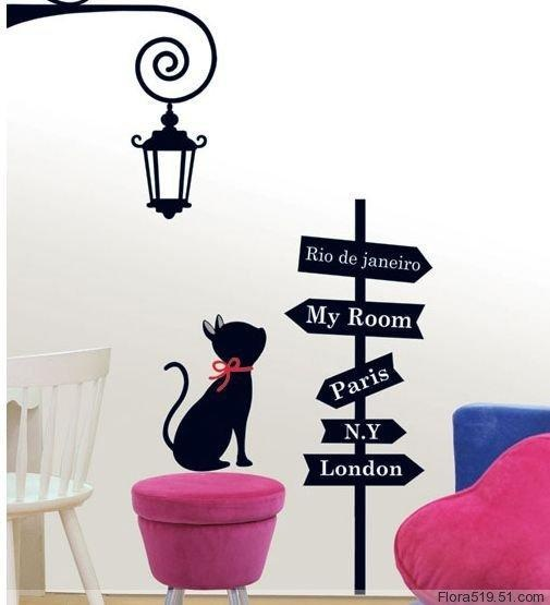 Best Wall Sticker Images On Pinterest - Custom vinyl wall decals cats