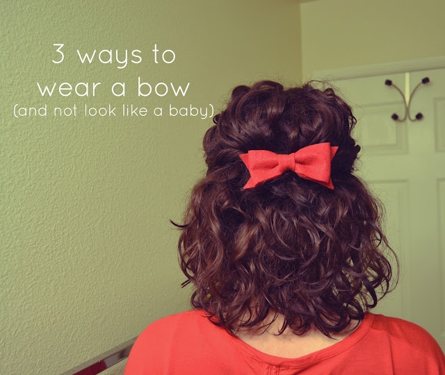 3 ways to wear a bow