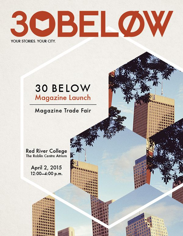 30 Below Launch Ad on Behance