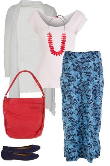Blue Pearl Outfit includes Sacha Drake, Vigorella, and Rare Rabbit - Birdsnest Online Fashion Store