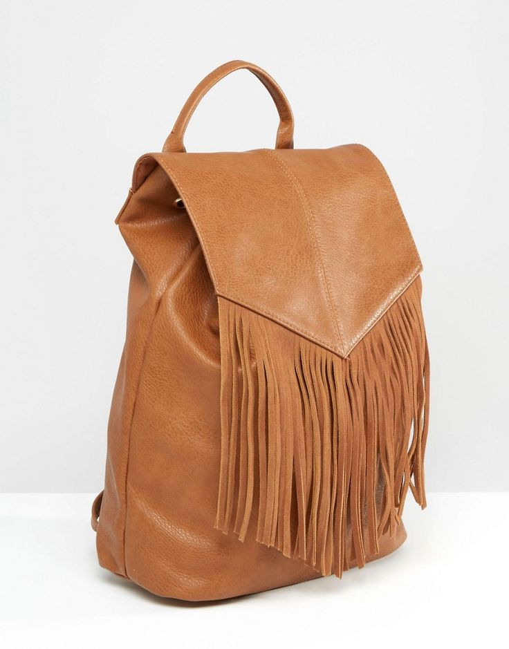 Image 2 of Pimkie Fringed Backpack