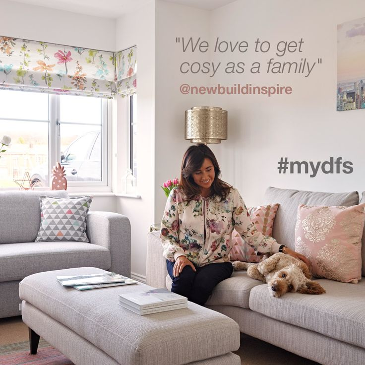"""""""We love to get cosy as a family"""" - @newbuildinspire   #mydfs"""