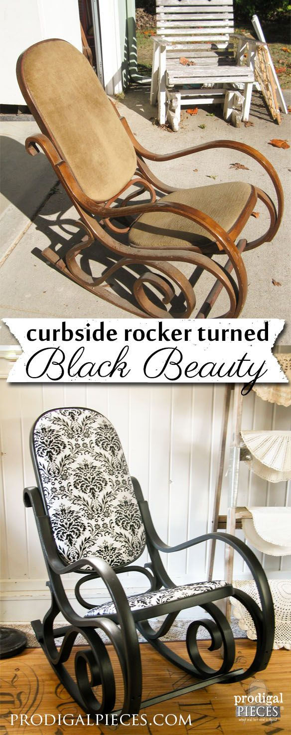Bentwood rocking chair makeover - Clock Face Table A Trash To Treasure Tale Rocking Chair Makeoverbentwood
