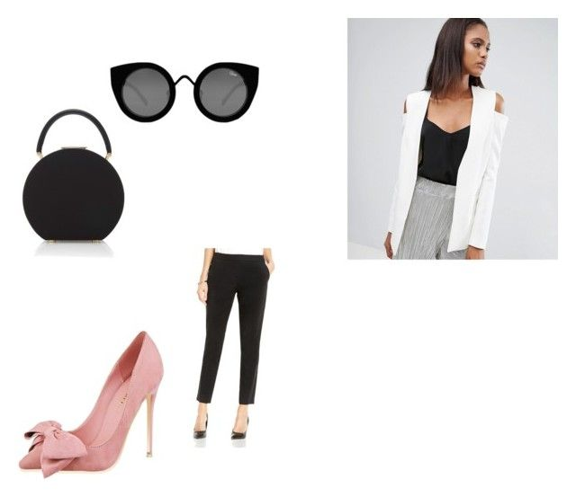 """Classy Spring"" by czirokpanna on Polyvore featuring ASOS, BUwood, Vince Camuto and Quay"