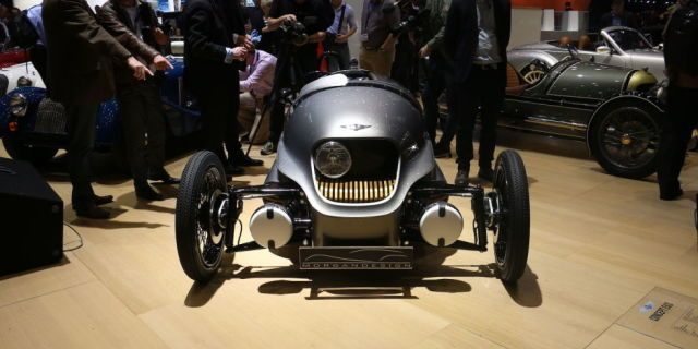 Morgan's Electric 3-Wheeler Might Be the Greenest Car On Sale  - PopularMechanics.com