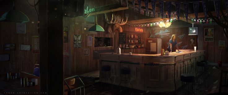 ArtStation - Far Cry 5 Trailer concept art, Sylvain Sarrailh