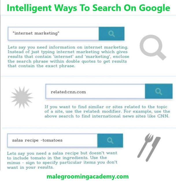 Intelligent Ways To Search On Google Search Travel Food Love