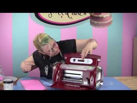 ▶ Andrea's Sweet Tips: How to use the the Cake Cricut - YouTube                                                                                                                                                      More