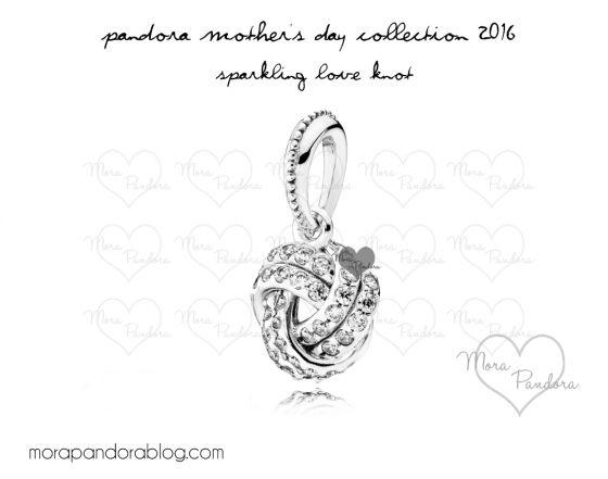 pandora mother's day 2016 sparkling love knot pendant
