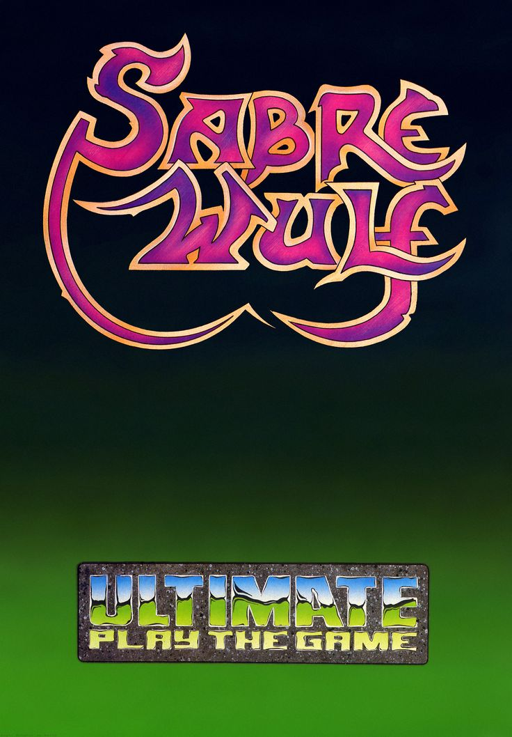 Poster for Sabre Wulf