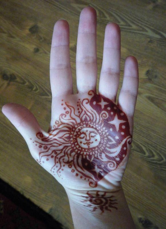 Priebeh tetovania hennou a starostlivosť