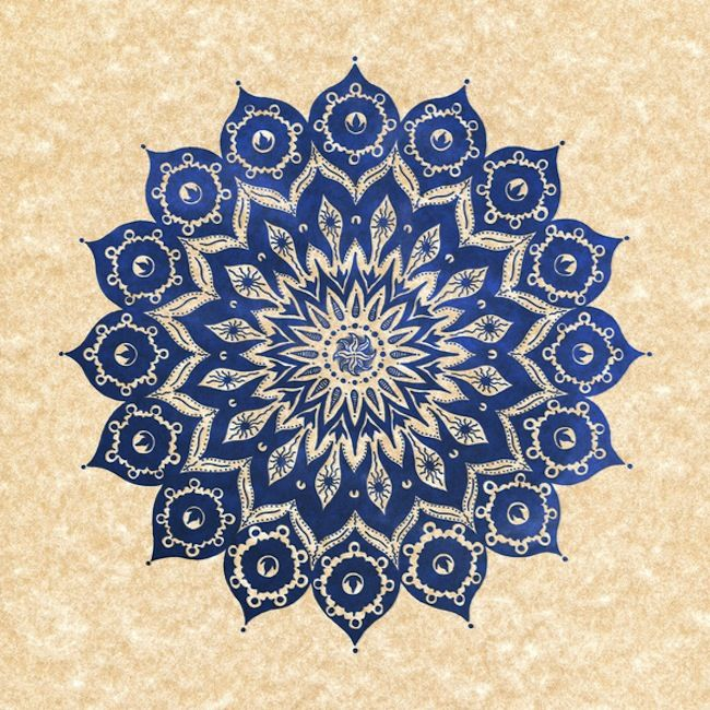 Miami-based artist Peter Patrick Barreda has been drawing these beautiful mandala designs for much of his life
