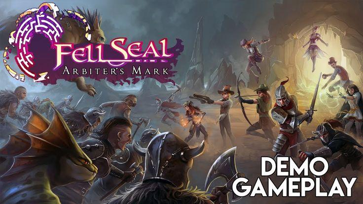Fell Seal Arbiter's Mark Gameplay   Kickstarter Tactical Turn Based JRPG...