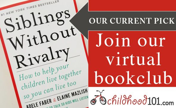 Virtual Book Club 101: Siblings Without Rivalry. First up we're talking about Sections 1 & 2, it's not too late to join in.