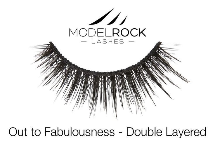 MODELROCK Lashes - Out to Fabulousness - Double Layered Lashes, $11.95 (http://www.modelrocklashes.com/products/out-to-fabulousness-double-layered-lashes.html/)