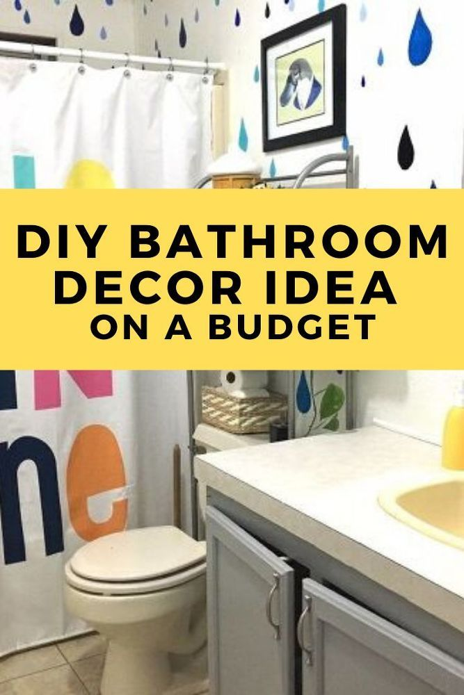 Diy Easy Kids Bathroom Decor Idea In 2020 Kid Bathroom Decor Bathroom Makeover Amazing Bathrooms