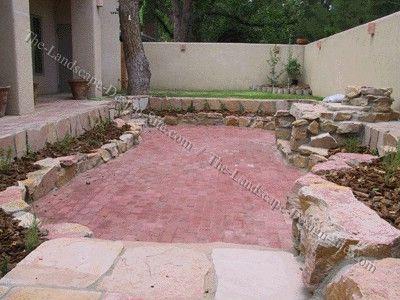 Back yard pool designs idea bing images slate bottom for Convert pool to garden