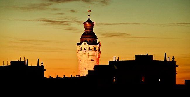 Hôtel de ville de Leipzig en Allemagne