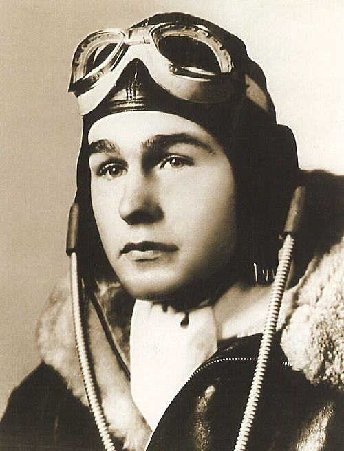 Three days before his 19th birthday, George H.W. Bush became the youngest aviator in the US Navy.
