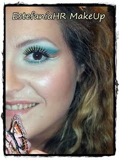 Tutorial: maquillaje tropical. Descubre el paso a paso en http://anabeladasentuvida.blogspot.com.es/2012/09/maquillaje-tropical.html