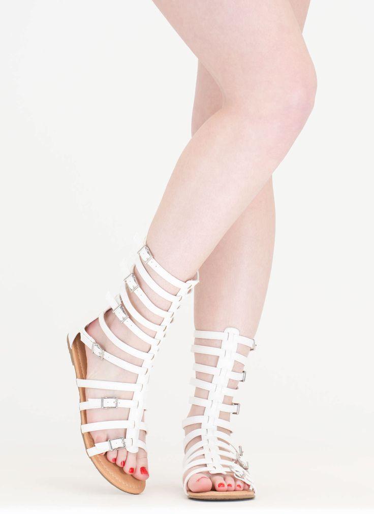 Arena Allure Gladiator Sandals WHITE