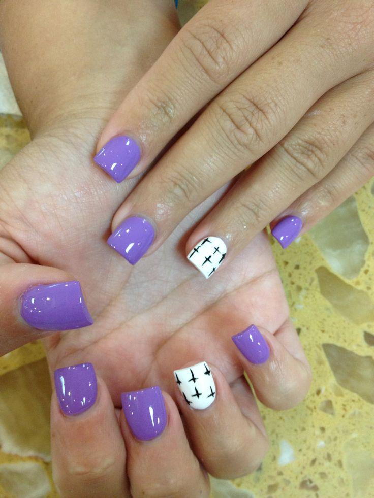 ring finger nails ideas