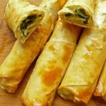 Homemade spinach and cheese cigar burek - a copycat recipe to one I tried in Turkey. Looks complicated but is actually so simple to make!