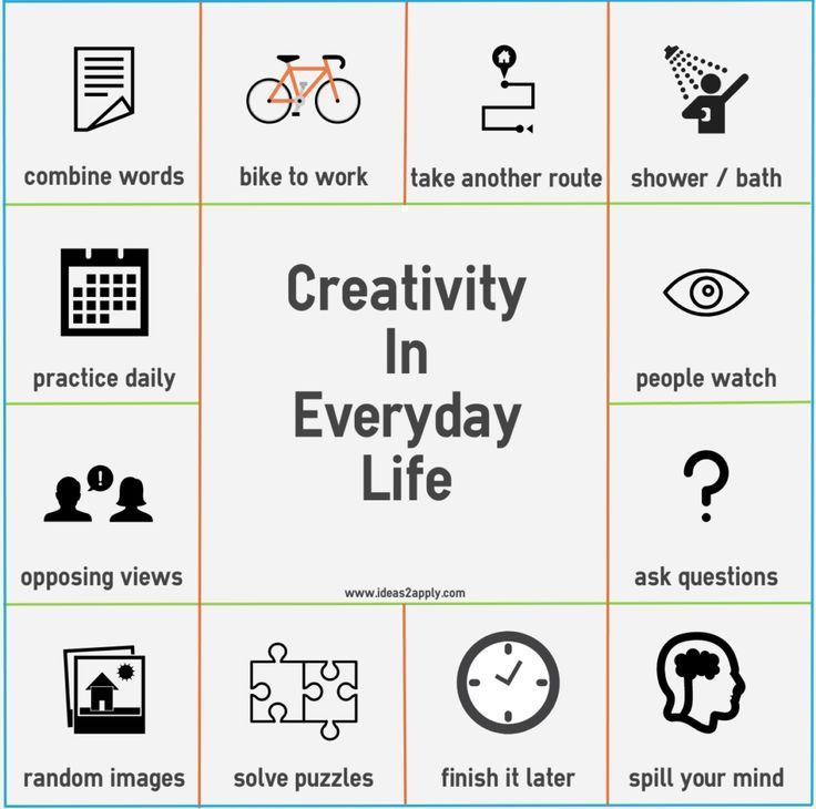 Examples Of Creativity In Everyday Life