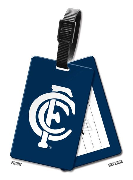 Official AFL Carlton Blues Luggage Tag $ 10.00