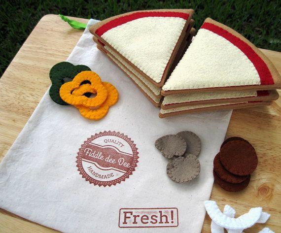 174 best felt foods pizza images on pinterest felt for Space pizza fabric