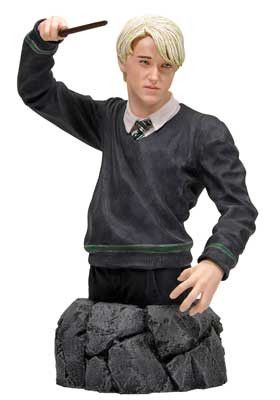 Draco Malfoy is depicted here from the Harry Potter and the Order of the Phoenix movie coming out Summer 2007. Draco Malfoy is the antithesis of Harry Potter, as he uses his wealth and powers for self