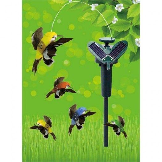 Güneş Enerjili Uçan Kuş - Solar Hummingbird