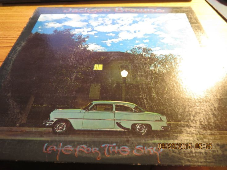 Jackson Browne - Late for the Sky - Asylum Records 7E-1017 - 1974 - LP