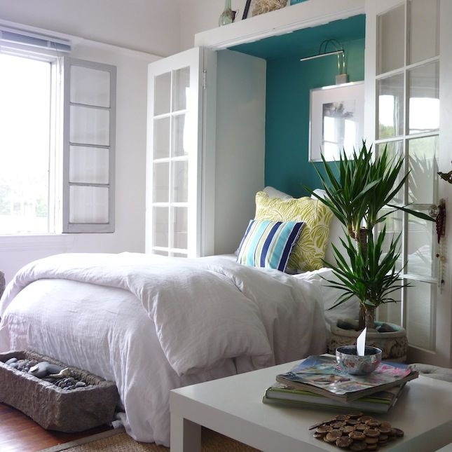 Best 25 murphy bed ikea ideas on pinterest murphy bed for Murphy beds for small spaces