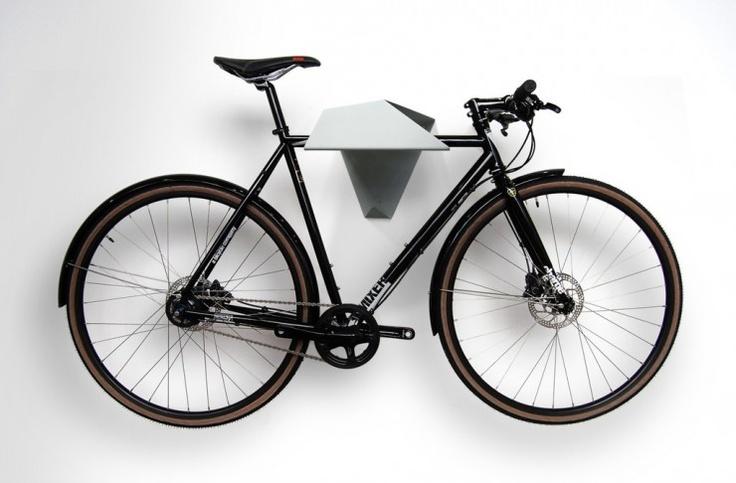 Hood bike wall mount