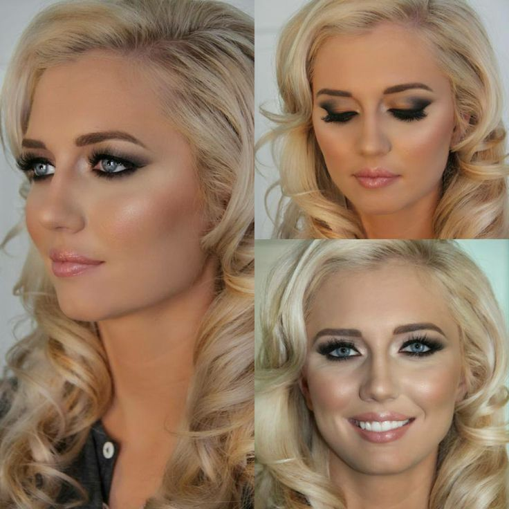 This is it - THE wedding makeup
