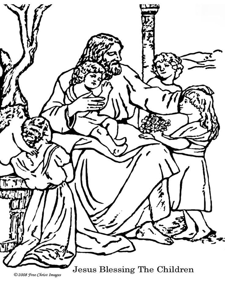 All Nations Bible Coloring Page For Kids