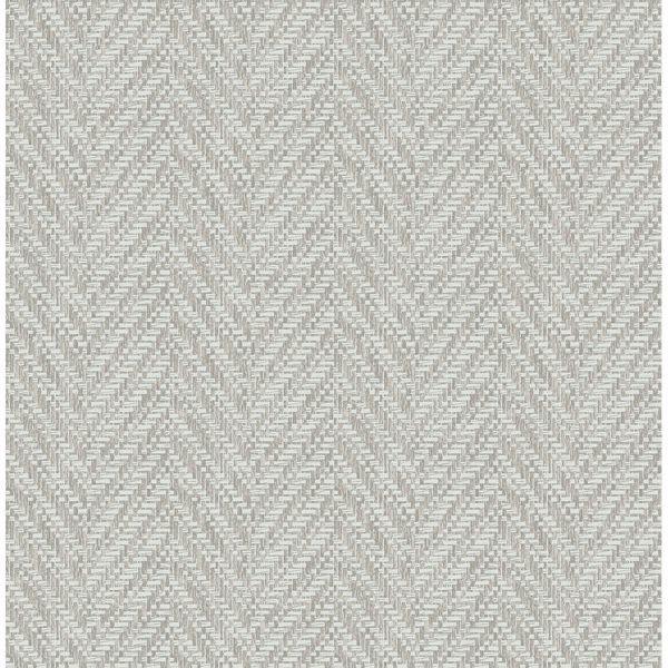 Ziggity Fog Faux Grasscloth Wallpaper By Sarah Richardson Grasscloth Wallpaper Herringbone Wallpaper Brewster Wallpaper