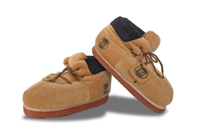 Wheat Plush Unisex Sneaker Slippers