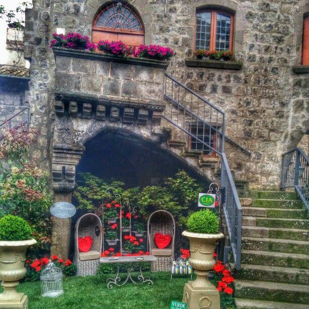 #sanpellegrinoinfiore #viterbo #fiori #love #cuori