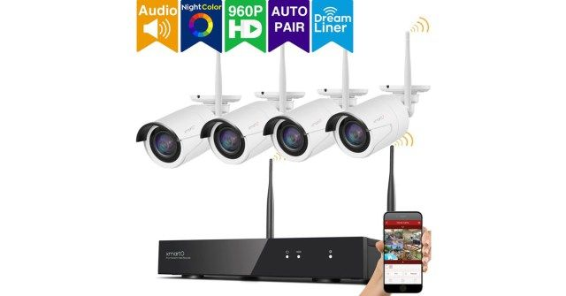 xmartO 8CH 960p Expandable Wireless Security Camera System