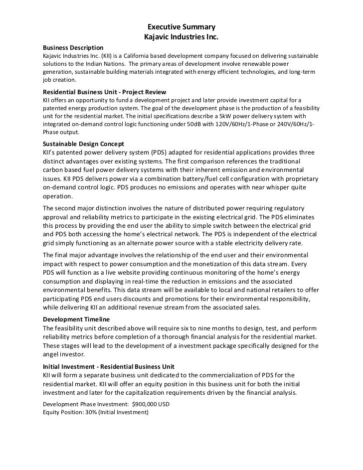 Best 25+ Executive summary ideas on Pinterest Business plan - executive summary format for project report