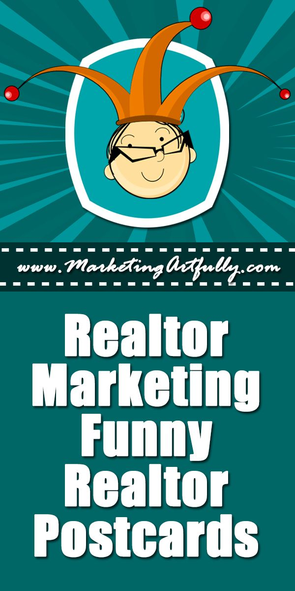 Realtor Marketing Funny Realtor Postcards :: Realtor marketing is generally a serious thing. That having been said, if you have the right personality, funny realtor postcards can be a great advertising tool! #realtor #marketing