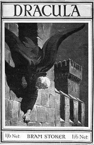 <3 Cover of the 1916 edition of Bram Stoker's Dracula (1897). #bookcovers #v #blackness