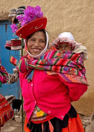 Mother Amp Baby In Peru The Indigenous Amerindian People