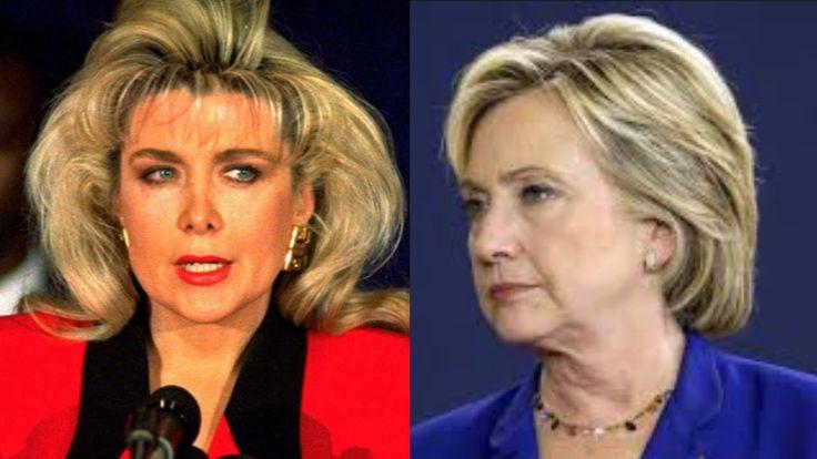 Gennifer Flowers Will Attend Debate As Trump's Guest - Bill Clinton's Mi...