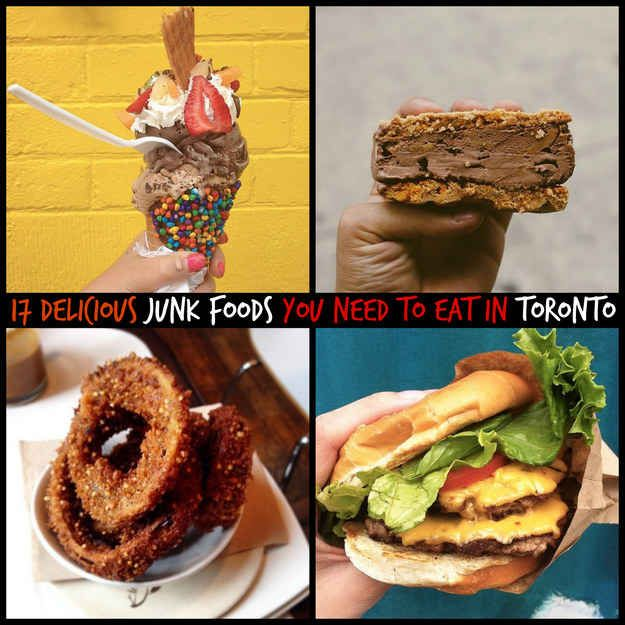 17 Delicious Junk Foods You Need To Eat In Toronto. I need to get exploring here to find all these goodies!!
