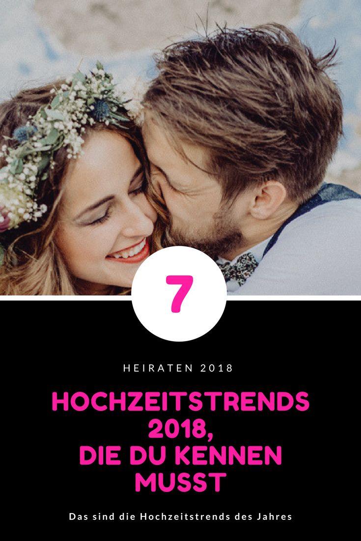 Diese Hochzeitstrends 2018 musst du kennen #hochzeit #heiraten #hochzeitstrend2018
